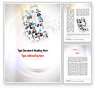 People: Office Collage Word Template #10899