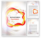 Abstract/Textures: Paint Frame Splash Word Template #10909