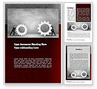 Business Concepts: Gears of Project Word Template #10927