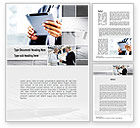Business Concepts: Business Information Word Template #10936