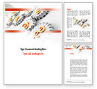 Financial/Accounting: Working Money Word Template #10942