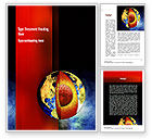 Education & Training: Earth's Core Word Template #10955