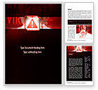 Medical: Virus Detected Word Template #10967