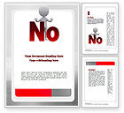 Business Concepts: No Word Template #10971