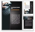 Telecommunication: Pick Up the Phone Word Template #10981