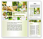 People: Yoga Outdoors Word Template #10995
