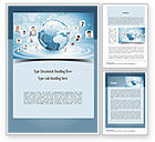 Careers/Industry: Business Networking Word Template #11001