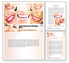 Medical: Dental Smile Word Template #11003