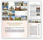 Flags/International: Turin Landmarks Collage Word Template #11005