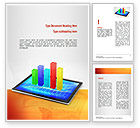 Business Concepts: Bar Graph Word Template #11011