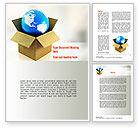 Careers/Industry: Global Supply Word Template #11037