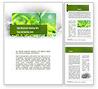 Nature & Environment: Green Presentation Word Template #11044