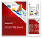 Consulting: Data Visualization Word Template #11064