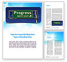 Consulting: Progress Freeway Sign Word Template #11066