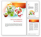 Food & Beverage: Refreshing Drinks Word Template #11094