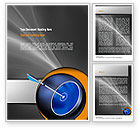 Business Concepts: Hit Target Word Template #11135