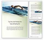Sports: Modelo do Word - nadador do oceano #11150