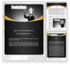 Business Concepts: Profit Solution Word Template #11152