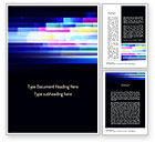 Abstract/Textures: Abstract Multicolor Motion Word Template #11199