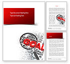Business Concepts: Business Goals Word Template #11216