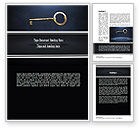 Business Concepts: Key to All Doors Word Template #11235