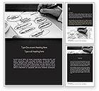 Careers/Industry: Marketing Plan Development Word Template #11237