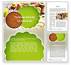 Food & Beverage: Baby Shower Food Word Template #11241