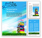 Education & Training: Books for Children Word Template #11249