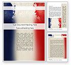 Flags/International: Modelo do Word - frança apresentação #11256