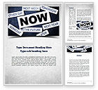 Business Concepts: Stop Procrastinating Word Template #11257