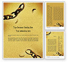 Religious/Spiritual: He Will Break Every Chain Word Template #11270