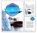 Cars/Transportation: Shipping Company Word Template #11280