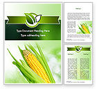 Agriculture and Animals: Corn On The Cob Word Template #11296
