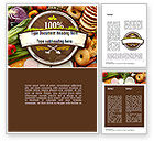 Food & Beverage: Abundance Of Food Word Template #11305