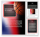 Sports: NBA Championship Word Template #11310