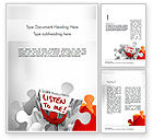 Education & Training: Social Leadership Word Template #11346