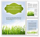 Nature & Environment: Nature Word Template #11348
