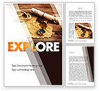 Careers/Industry: Explorer Theme Word Template #11355