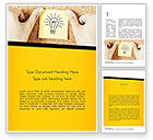 Business Concepts: Idea Notes Word Template #11356