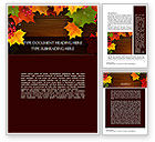Nature & Environment: Fall Theme Word Template #11360