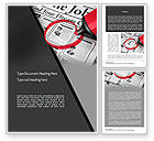Careers/Industry: Job Searching Word Template #11375