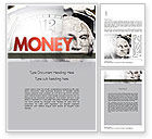 Financial/Accounting: Time is Money Word Template #11379