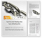 Business Concepts: Chain Links Word Template #11391