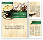Food & Beverage: Mocha Coffee Flavor Word Template #11398