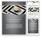 Financial/Accounting: Money in Maze Word Template #11420