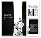 Business Concepts: Time Management in Business Word Template #11435