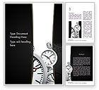 Business Concepts: Plantilla de Word - gestión del tiempo en los negocios #11435