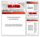Education & Training: Welcome in Different Languages Word Template #11440