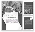 Financial/Accounting: Credit Card Debt Word Template #11449