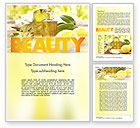 Careers/Industry: Olive Essential Oils Word Template #11457